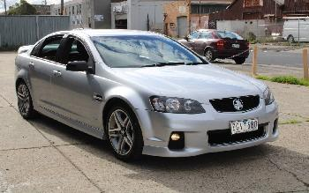 2012 Holden COMMODORE SV6 VE II MY12