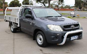 2009 Toyota Hilux WORKMATE TGN16R 08 UPGRADE